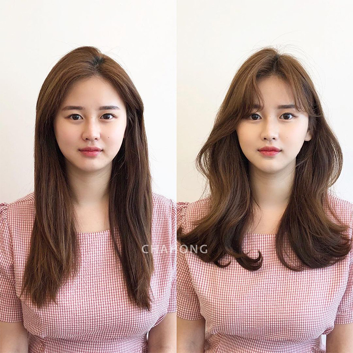 hairstyles face shape round