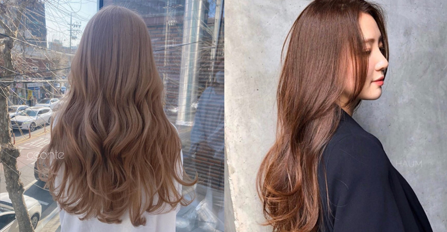"""""""Tea brown"""" is the top trending Korean hair colour of 2021 – here are 5 gorgeous shades for some inspiration"""